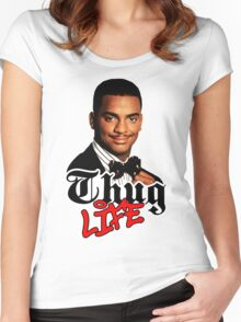 Thug life Carlton Women's Fitted Scoop T-Shirt
