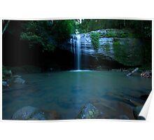 Buderim Rainforest Waterfall Poster