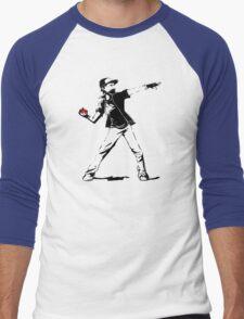 Banksy Pokemon Men's Baseball ¾ T-Shirt