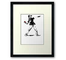 Banksy Pokemon Framed Print