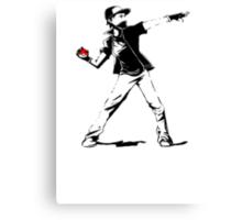 Banksy Pokemon Canvas Print