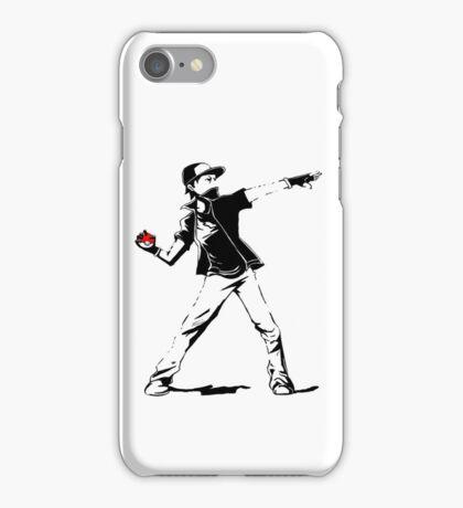 Banksy Pokemon iPhone Case/Skin