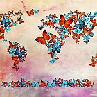 world map  by motiashkar
