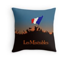 Les Miserables Throw Pillow