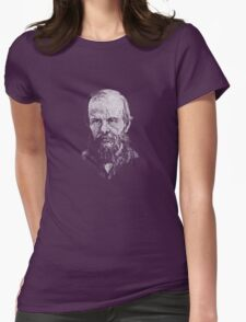 Dostoevsky Womens Fitted T-Shirt