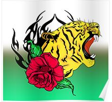 freak tiger  Poster