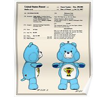 Champ Bear Patent Poster