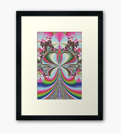 Pink Queen Framed Print
