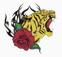 freak tiger  Baby Tee