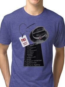 The Blacklist Top 12 with RR on Hat Tri-blend T-Shirt