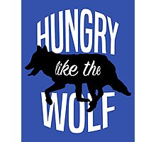 Hungry Like The Wolf Photographic Print