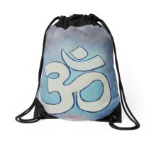 The Sound of your breath  Drawstring Bag