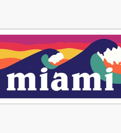 Miami Sticker