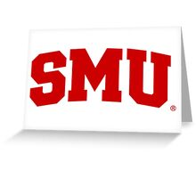 SMU  Greeting Card