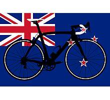 Bike Flag New Zealand (Big - Highlight) Photographic Print