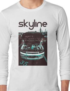 Nissan skyline (black) Long Sleeve T-Shirt