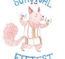 Survival of the Fittest by platypusradio