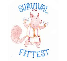 Survival of the Fittest Photographic Print