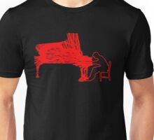 Gleen Gould's handmade exclusive design by InspiringPeople Unisex T-Shirt
