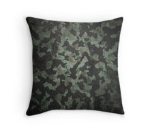 Woodland camouflage pillow case design Throw Pillow