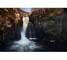 waterfall, inverkirkaig Photographic Print