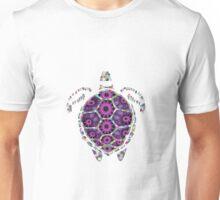 Girly Rainbow Sea Tortoise Shell Unisex T-Shirt
