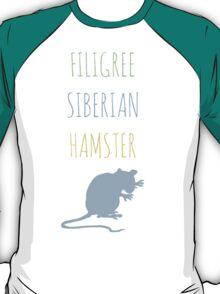 Filigree Siberian Hamster T-Shirt