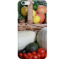 Basket of Vegetables iPhone Case/Skin