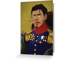 Admiral Usopp Greeting Card
