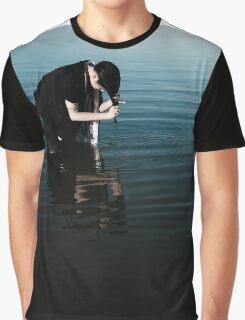Inky Stillness Graphic T-Shirt