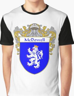 McDowell Coat of Arms/Family Crest Graphic T-Shirt