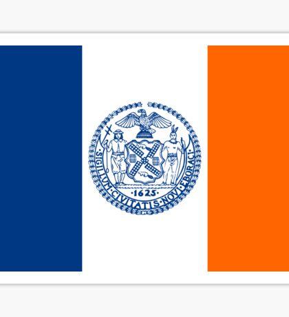 New York City Flag Sticker