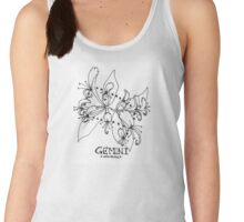 Floral Constellation - Gemini Women's Tank Top
