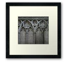 Gothic Wall Framed Print