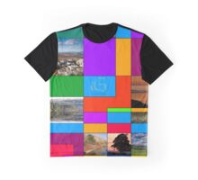 Geometric picture frame Graphic T-Shirt