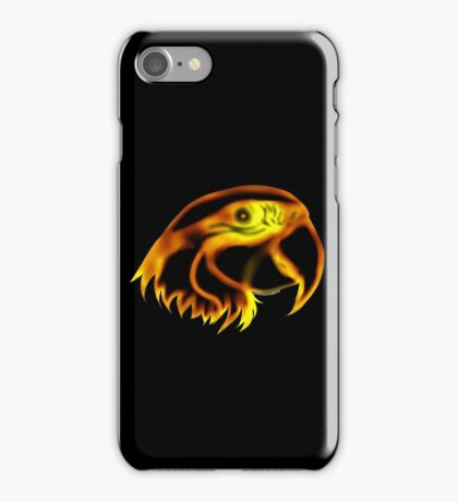Flame Parrot iPhone Case/Skin