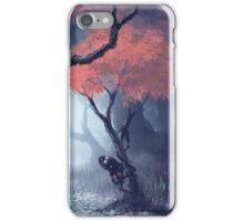 Kodama The Tree Hugger iPhone Case/Skin