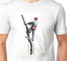 Arborist Tree Surgeon Lumberjack Logger Stihl Unisex T-Shirt