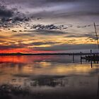 Sunset Reflections by yolanda