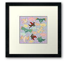 Dracarys-Lite Framed Print