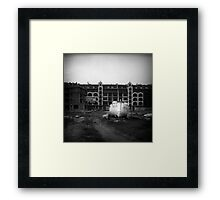 Boat & Build Framed Print