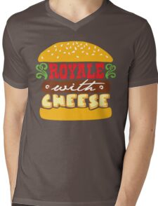 Pulp Fiction - Royale with cheese Mens V-Neck T-Shirt