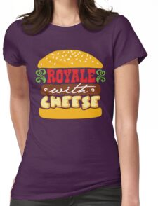 Pulp Fiction - Royale with cheese Womens Fitted T-Shirt