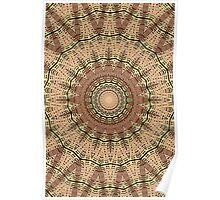 Kaleidoskop-Brown-Stern Poster