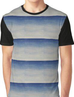Blue Gradient  Graphic T-Shirt