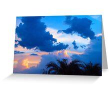Cloud Colors Greeting Card