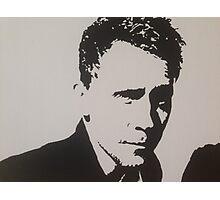 Handpainted Tom Hiddleston Photographic Print