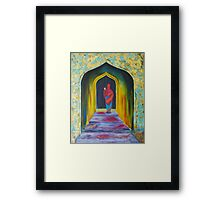 Searching for the master Framed Print