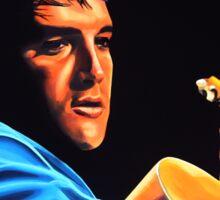 Elvis Presley 2 Painting Sticker