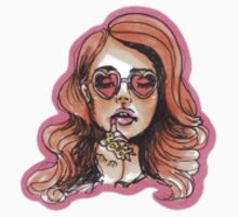 Bad B*tch Lana by cheekystickers